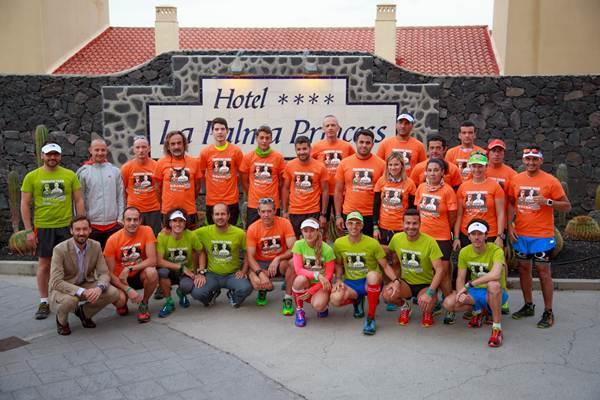 Participantes y organizadores del Training Camp