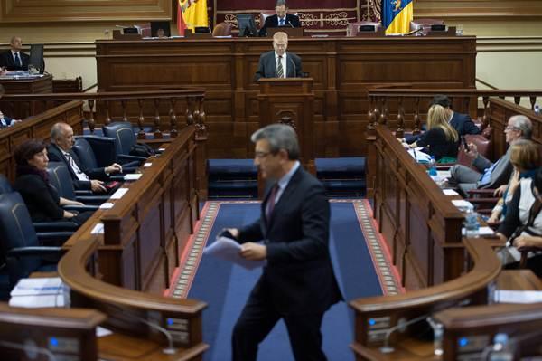 Pleno del Parlamento en el que se aprobó la nueva ley, en marzo. | F. P.