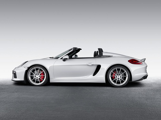 Porsche Boxster Spyder 1