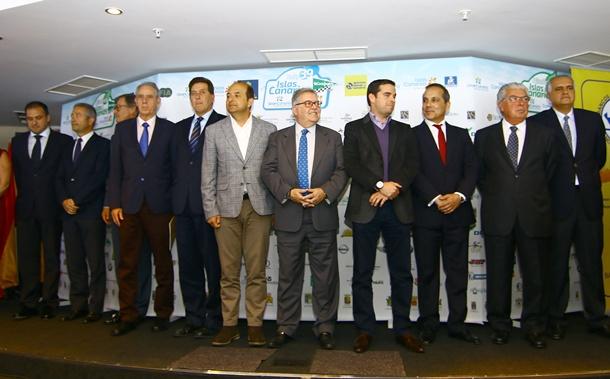 Presentación del Rally Islas Canarias 'El Corte Inglés'. | DA