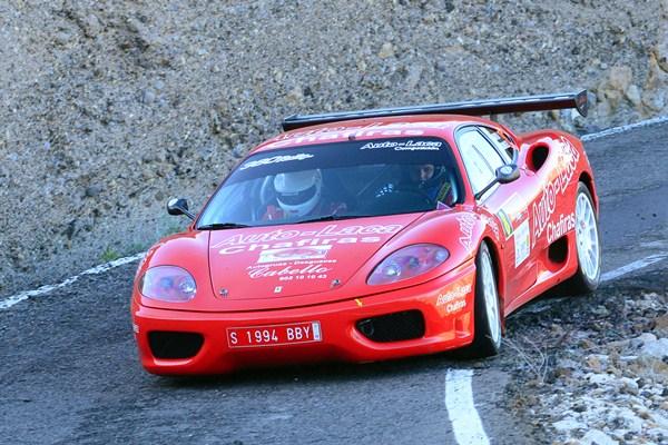 sm Armide Martín Ferrari Rally Villa de Adejeg