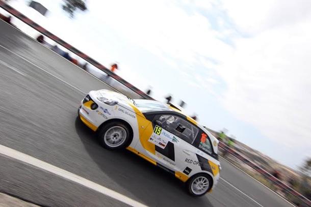 Rally Islas Canarias shakedown 1
