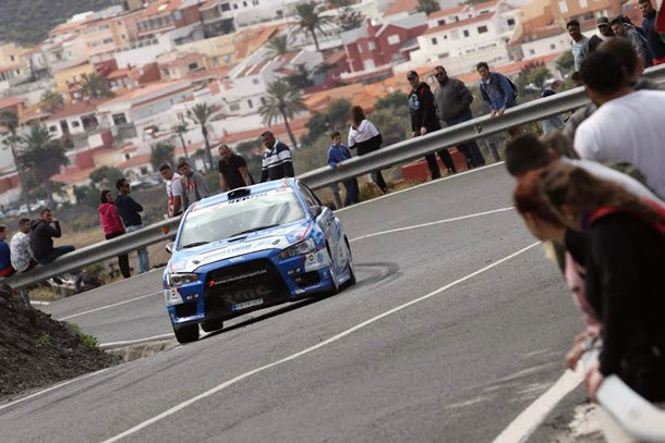 Rally Islas Canarias shakedown 2