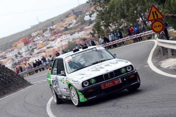 José Mari Ponce se despide del BMW M3. |  Rayco Suárez