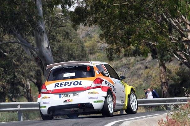 Rally Islas Canarias shakedown