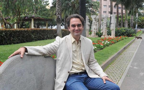 El concejal y candidato a la Alcaldía de Santa Cruz por Sí se puede, Pedro Fernández Arcila. / DA