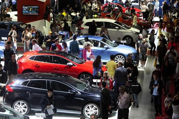 Una imagen de la pasada edición del Salón Internacional del Automovil de Barcelona. | DA