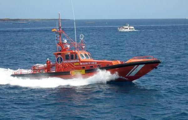 Una embarcación de Salvamento Marítimo. | SALVAMENTO MARÍTIMO
