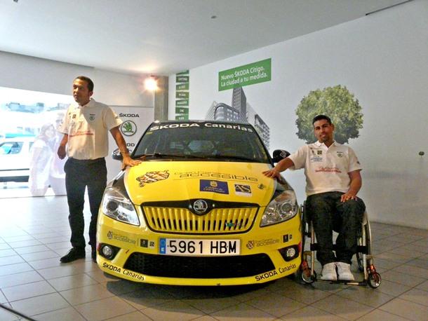 Sin Barreras Sport Driving piloto y copiloto