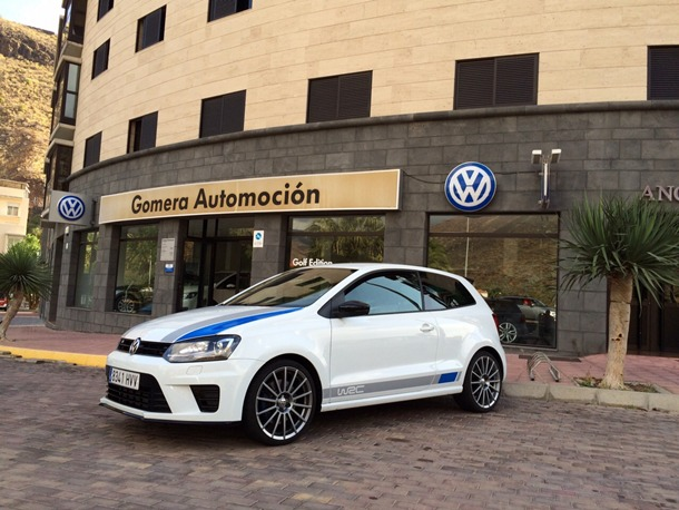 Gomera Automoción aportará varios modelos de Volkswagen a la organización de la prueba. | DA