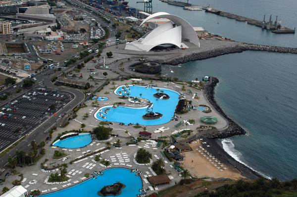 Vista del Auditorio de Santa Cruz de Tenerife. | DA