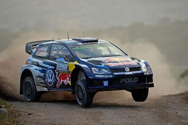 Sebastien Ogier (Volkswagen Polo WRC) durante el Rally de Argentina.   DA