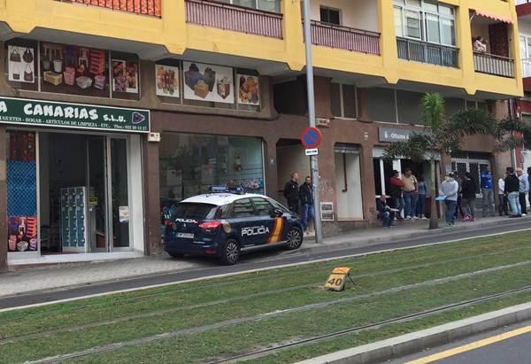 apuñalamiento en avenida Islas Canarias