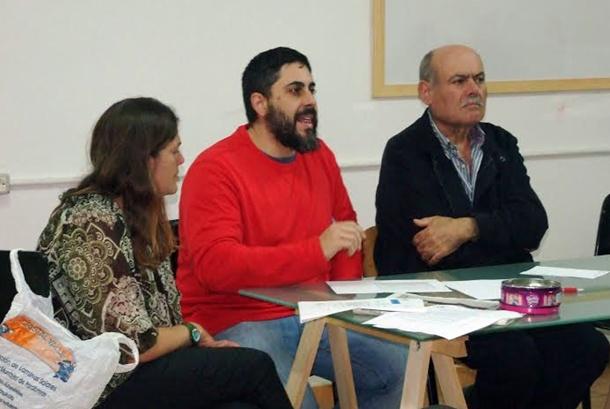 Pedro Molina acudió a la reunión. | DA
