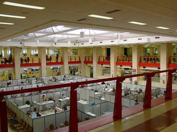 Imagen de la sede de una Agencia Tributaria. / EP
