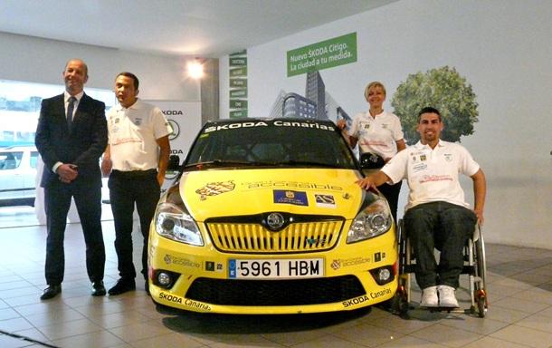 equipo Sin Barreras Sport Driving