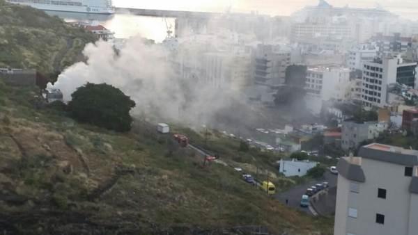 incendio en Los Lavaderos 3