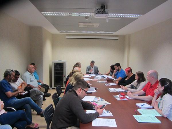 Reunión de una junta de distrito (Tagoror) en el municipio de Santa Cruz de Tenerife./ DA