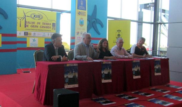 Presentación del Rally de Tierra de Gran Canaria.   DA
