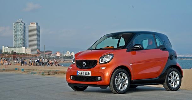 El smart fortwo es ahora un coche mucho más confortable.   DA