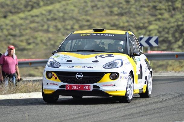 Ángela Vilariño ha completado los dos rallys canarios. | DA