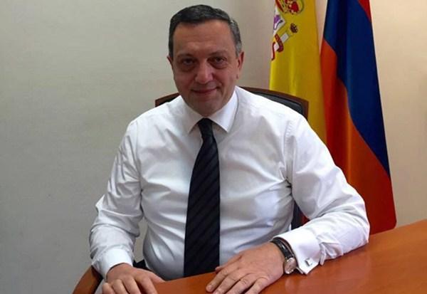 Avet Adonts, embajador Extraordinario y Plenipotenciario de la República de Armenia en España. / DA