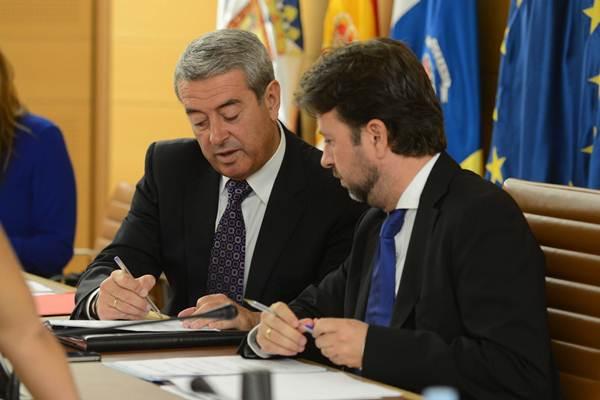 Abreu y Alonso son actualmente socios de gobierno. | S. M.