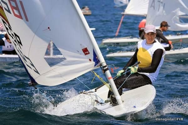 Alicia Cebrián prepara la cita de Weymouth, donde ya estuvo en los Juegos Olímpicos de 2012.   DA