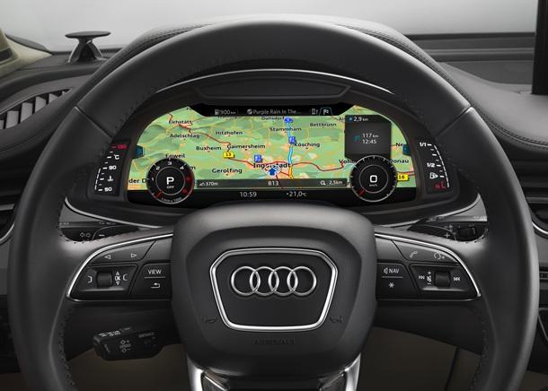 Sistema de infoentretenimiento del Audi Q7 que mejora la calidad en la conducción. | DA