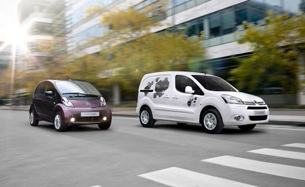 Nuevo Berlingo Electric y el Citroën C-Zero. | DA