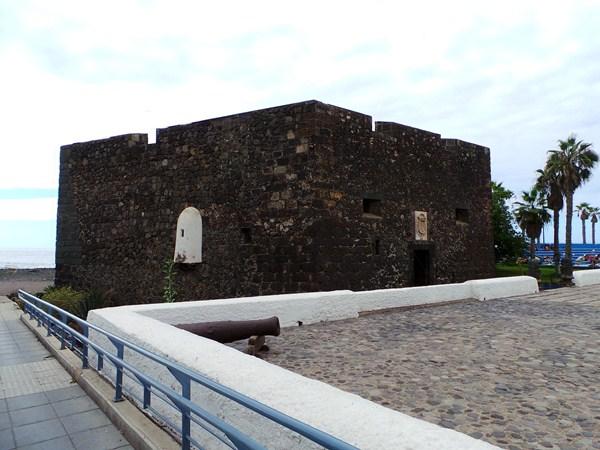 Exterior del Castillo San Felipe, declarado BIC, antes de ejecutarse los trabajos de reforma. / M. P. P.