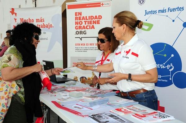 Cruz Roja cuenta con cientos de voluntarios en la provincia. / DA