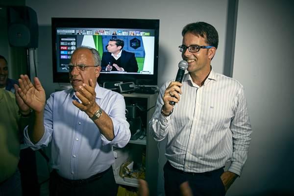 Casimiro Curbelo tras su aplastante victoria. | DA