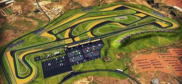 Maqueta del futuro Circuito de Tenerife que estará ubicado en Atogo.   DA