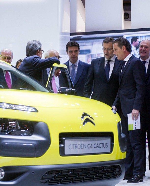 Citroën C4 Cactus Mariano Rajoy Jose Manuel Soria