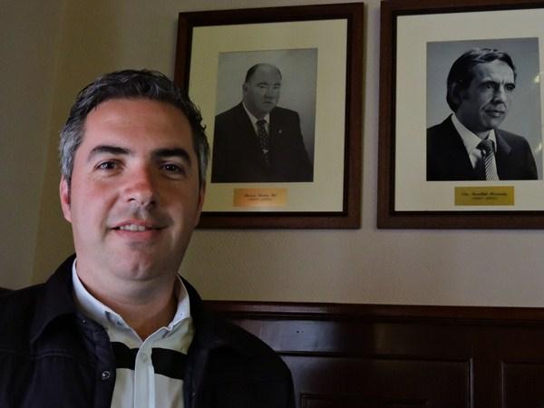 José Antonio Estévez, candidato del PSOE a la alcaldía de El Rosario./ NORCHI