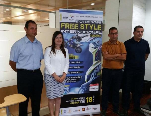 Una imagen de la presentación del Freestyle Internacional Tenerife 2015. | DA
