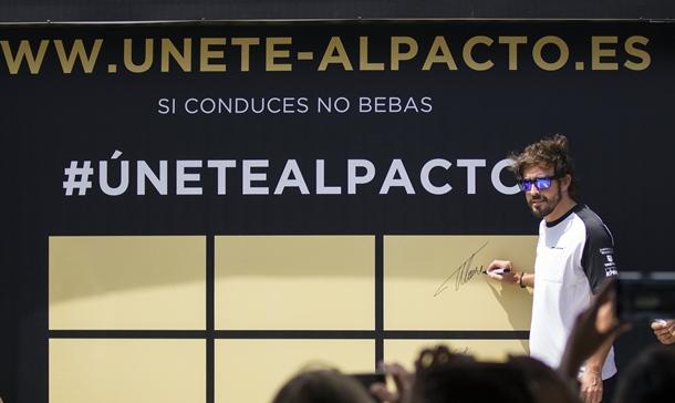 El piloto asturiano Fernando Alonso.   DA