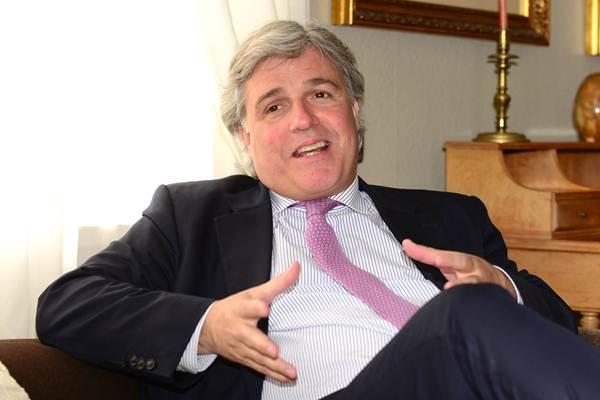 El diplomático uruguayo se reunirá con empresarios de las islas. | S. M.