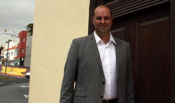 Marcos González, candidato del Partido Popular a la alcaldía de Granadilla de Abona. / DA