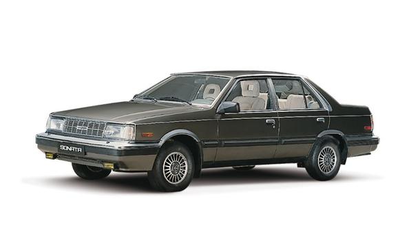 El Hyundai Sonata, que hizo su debut en 1985 en Corea. | DA