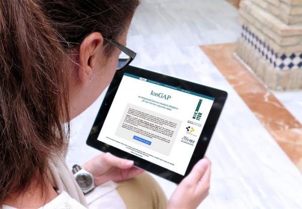 Imagen de la web de IonGAP. | DA