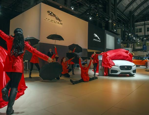 Presentación del Jaguar XF en Barcelona. | DA