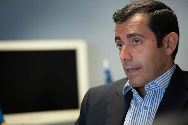 Juan José Martínez, director general de Puertos Canarios.   FRAN PALLERO