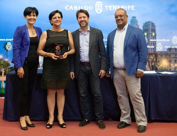 Candelaria Aguiar (Llano del Moro) Premio Cabildo Dedicación Deportiva
