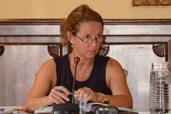 Marisa Santos, exsecretaria. / DA