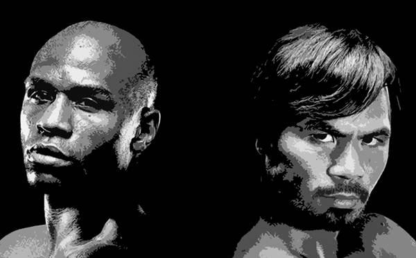 Mayweather y Pacquiao. | DA