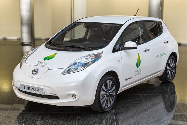 Nissan LEAF.  DA