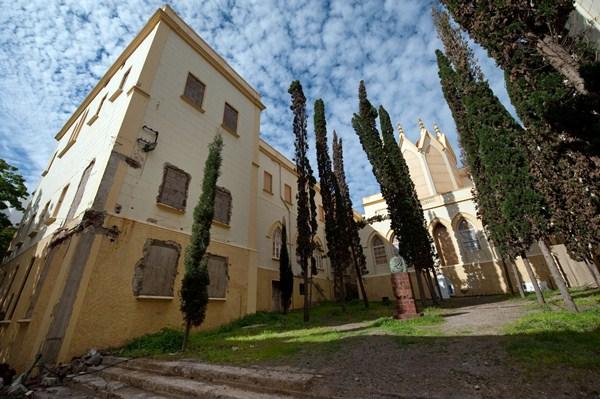 El edificio del parque ha sido declarado Bien de Interés Cultural. / F. P.