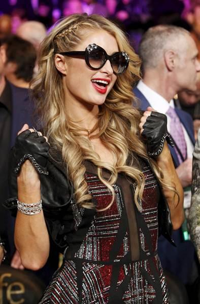 Paris Hilton. | REUTERS